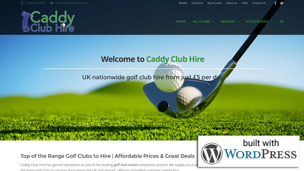 Featured WordPress Website